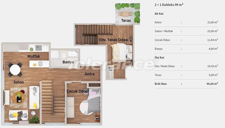Квартиры в центре Стамбула в комплексе с концепцией отеля, в рассрочку от застройщика - 27064 | Tolerance Homes