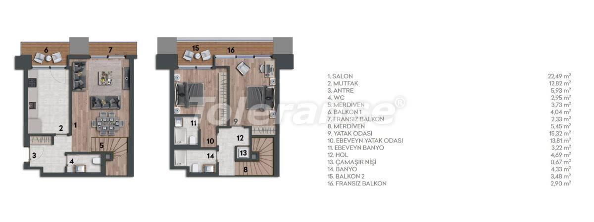 Квартиры в Стамбуле с видом на море - 26970 | Tolerance Homes