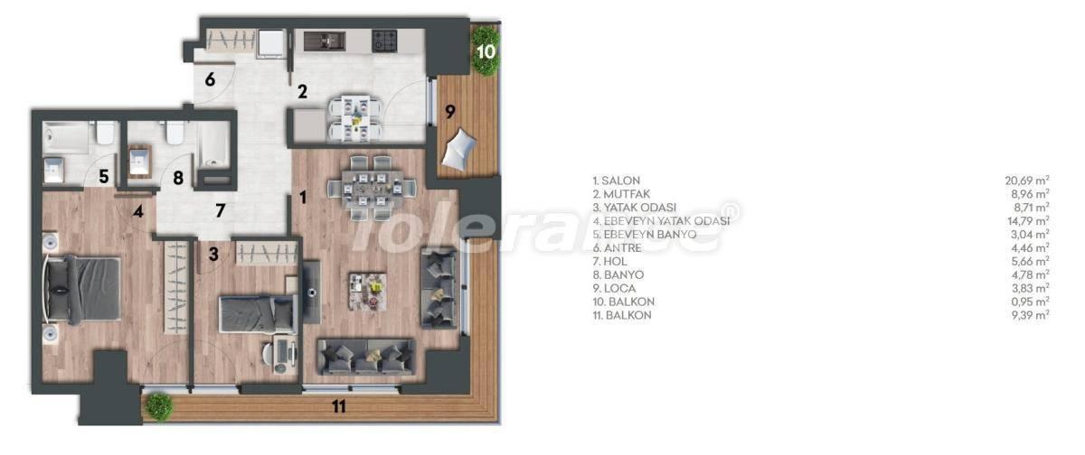 Квартиры в Стамбуле с видом на море - 26978 | Tolerance Homes