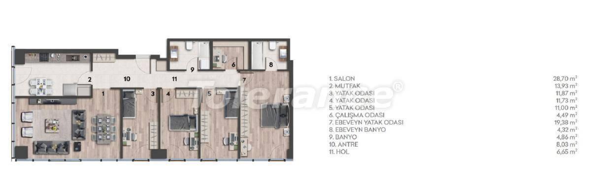 Квартиры в Стамбуле с видом на море - 26977 | Tolerance Homes
