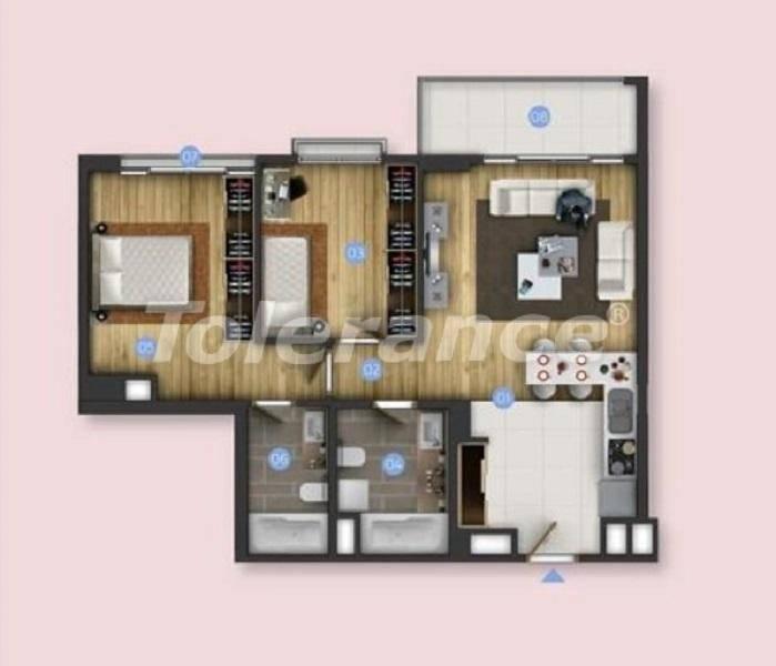 Новые квартиры в Бююкчекмедже, Стамбул с видом на море и рассрочкой от застройщика - 26848 | Tolerance Homes