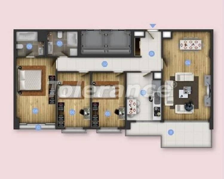 Новые квартиры в Бююкчекмедже, Стамбул с видом на море и рассрочкой от застройщика - 26851 | Tolerance Homes