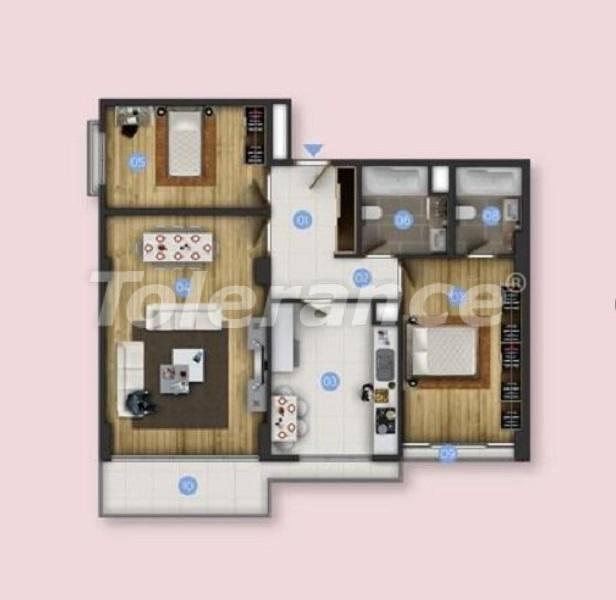 Новые квартиры в Бююкчекмедже, Стамбул с видом на море и рассрочкой от застройщика - 26846 | Tolerance Homes