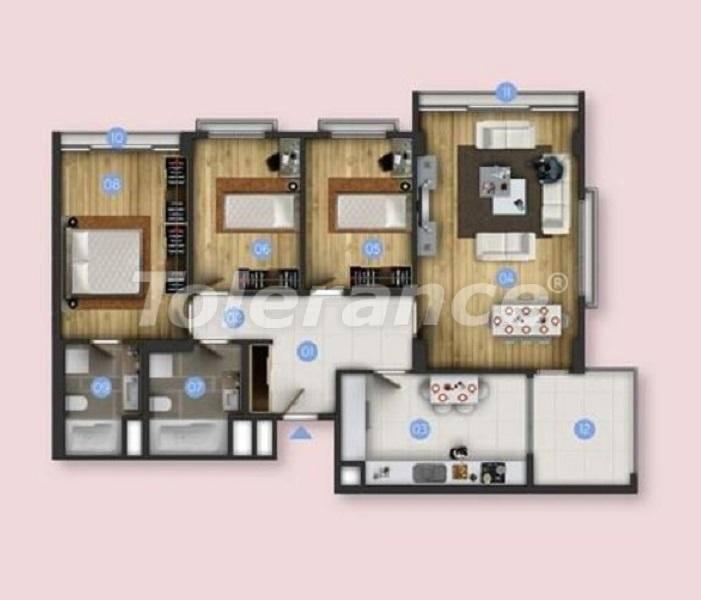 Новые квартиры в Бююкчекмедже, Стамбул с видом на море и рассрочкой от застройщика - 26852 | Tolerance Homes