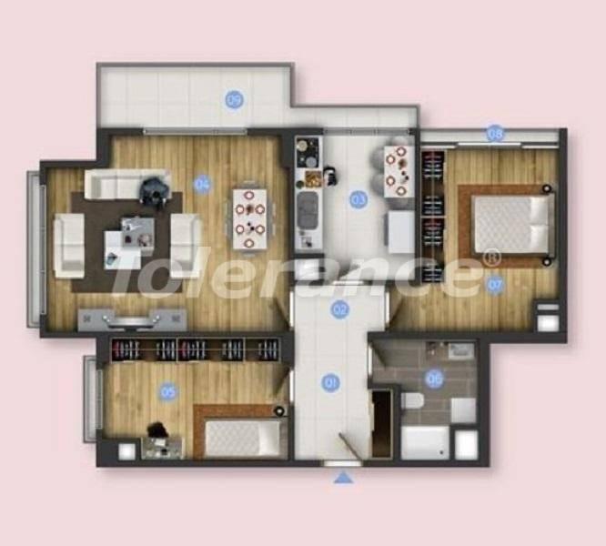 Новые квартиры в Бююкчекмедже, Стамбул с видом на море и рассрочкой от застройщика - 26849 | Tolerance Homes