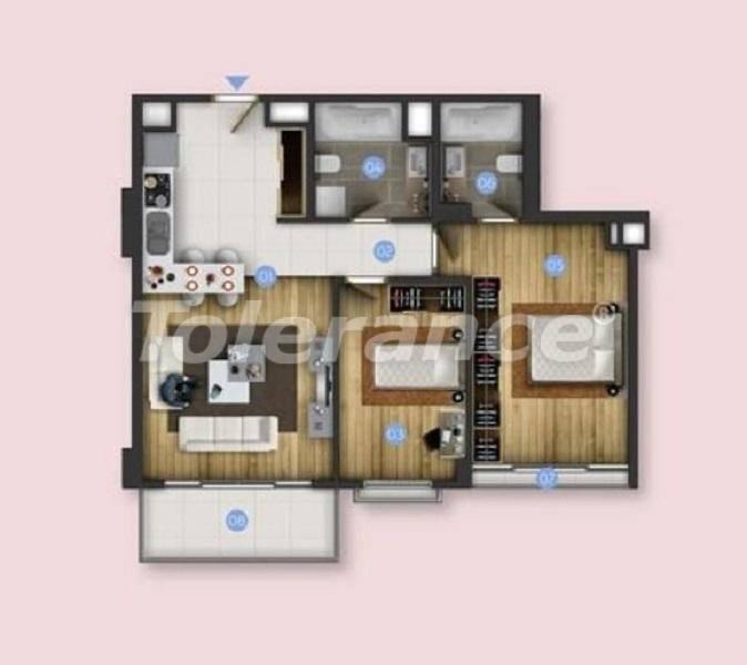 Новые квартиры в Бююкчекмедже, Стамбул с видом на море и рассрочкой от застройщика - 26847 | Tolerance Homes