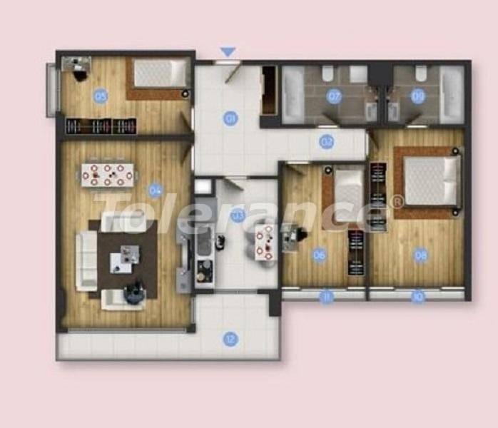 Новые квартиры в Бююкчекмедже, Стамбул с видом на море и рассрочкой от застройщика - 26850 | Tolerance Homes
