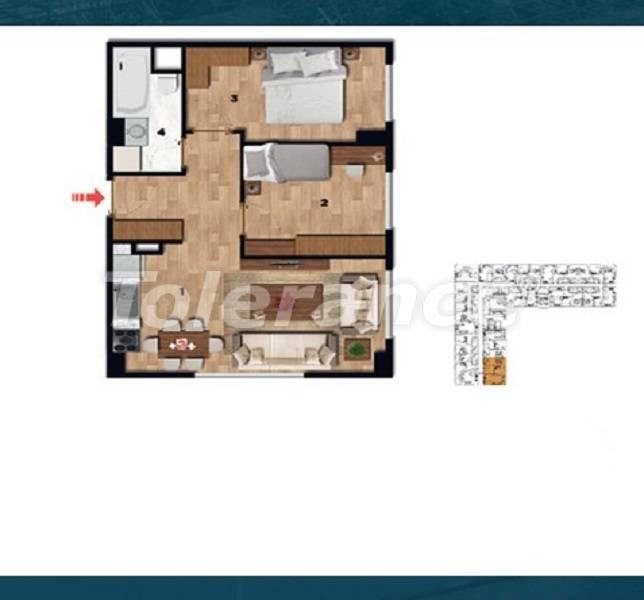 Выгодные для инвестиций квартиры в историческом центре Стамбула - 26724 | Tolerance Homes