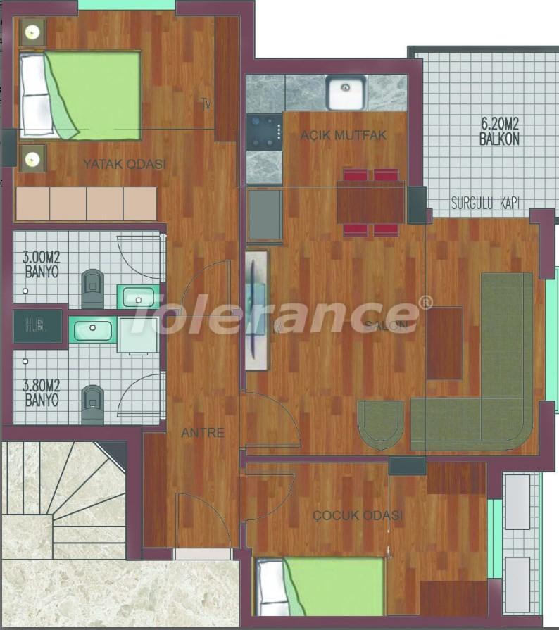 Просторные квартиры в Хурме, Коньяалты в элитном комплексе от надежного застройщика - 26759 | Tolerance Homes