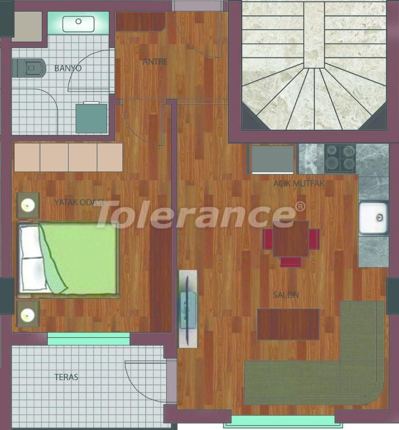 Просторные квартиры в Хурме, Коньяалты в элитном комплексе от надежного застройщика - 26755 | Tolerance Homes