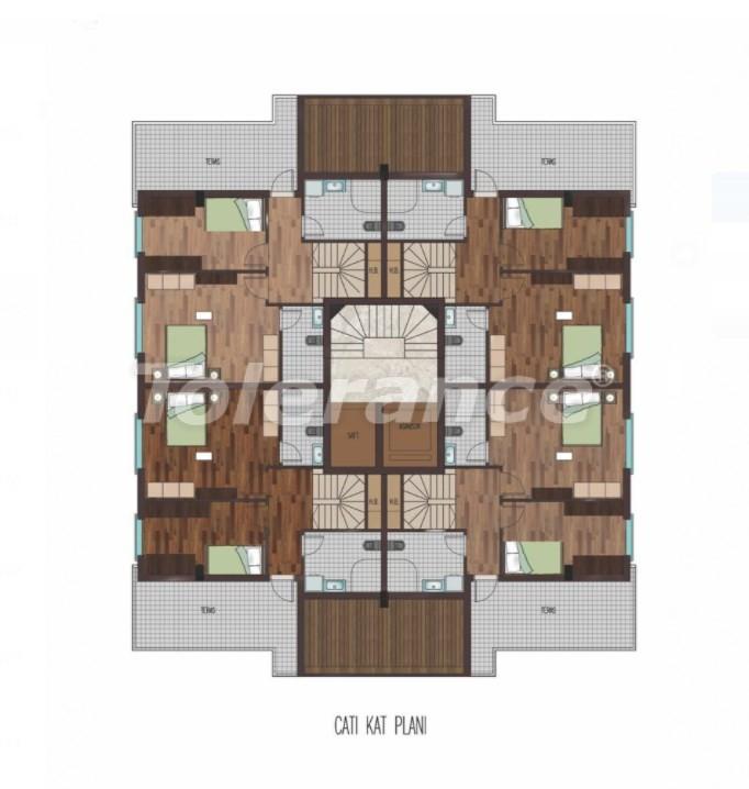 Просторные квартиры в Хурме, Коньяалты в элитном комплексе от надежного застройщика - 31798 | Tolerance Homes