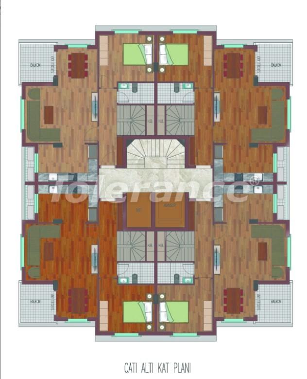 Просторные квартиры в Хурме, Коньяалты в элитном комплексе от надежного застройщика - 26761 | Tolerance Homes