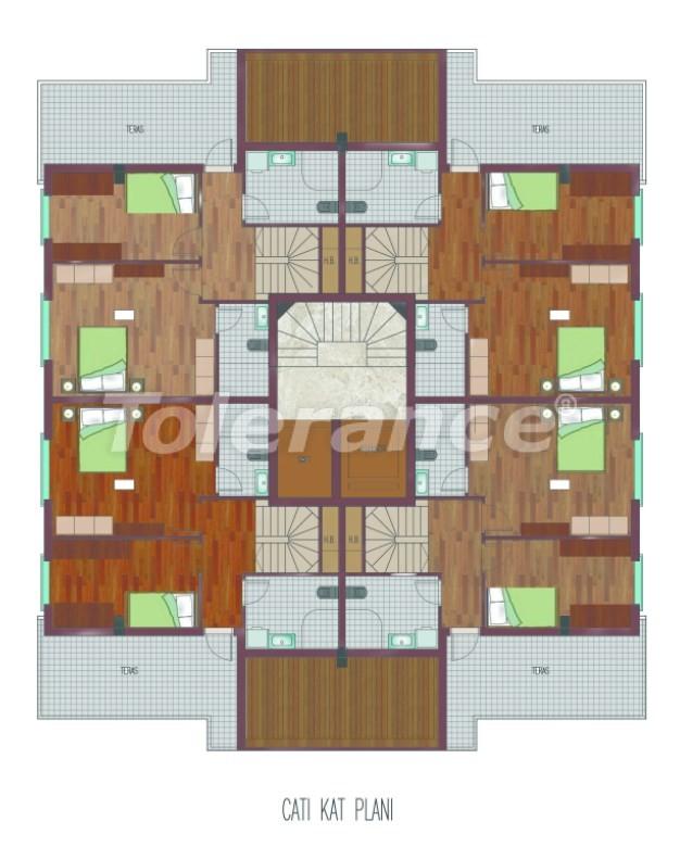 Просторные квартиры в Хурме, Коньяалты в элитном комплексе от надежного застройщика - 26762 | Tolerance Homes