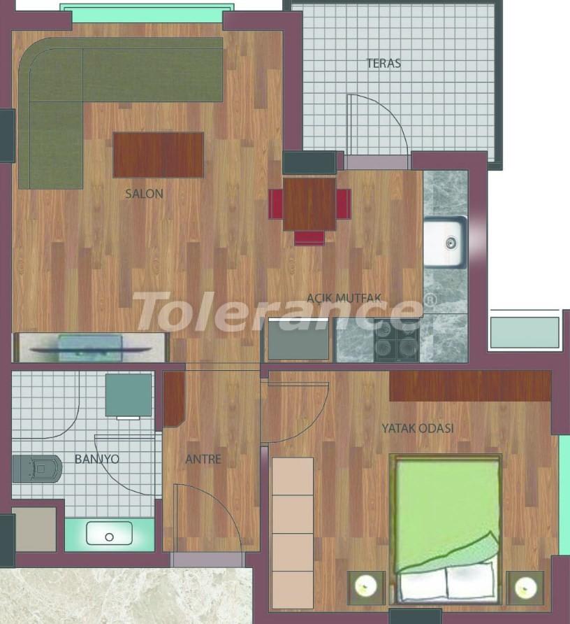 Просторные квартиры в Хурме, Коньяалты в элитном комплексе от надежного застройщика - 26756 | Tolerance Homes
