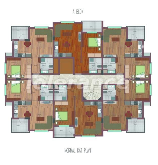 Просторные квартиры в Хурме, Коньяалты в элитном комплексе от надежного застройщика - 26757 | Tolerance Homes