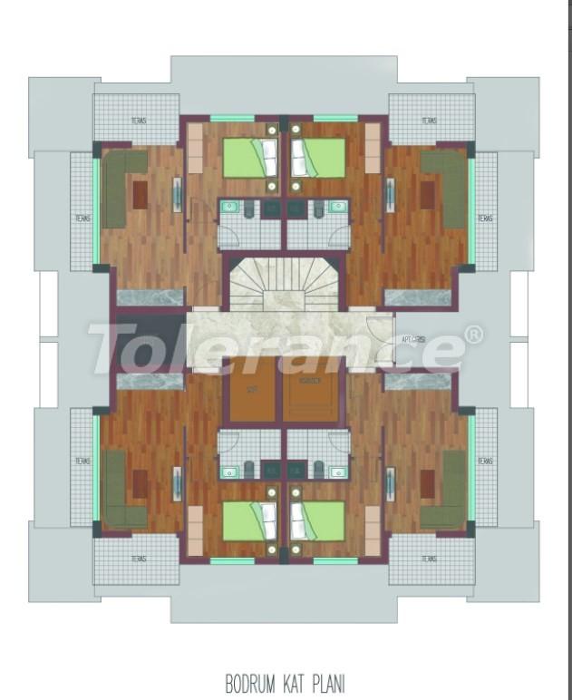 Просторные квартиры в Хурме, Коньяалты в элитном комплексе от надежного застройщика - 26760 | Tolerance Homes