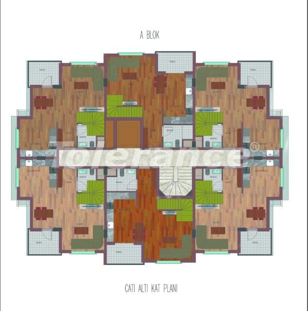 Просторные квартиры в Хурме, Коньяалты в элитном комплексе от надежного застройщика - 26758 | Tolerance Homes