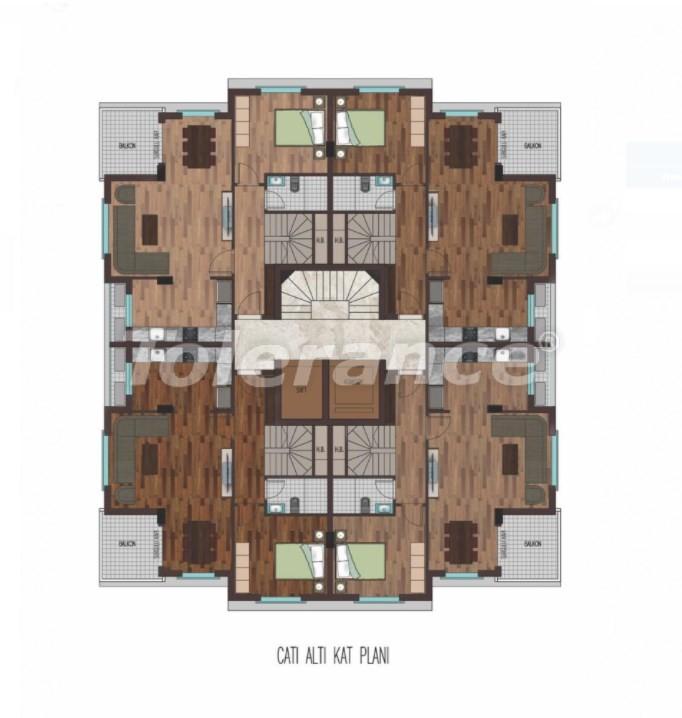 Просторные квартиры в Хурме, Коньяалты в элитном комплексе от надежного застройщика - 31797 | Tolerance Homes