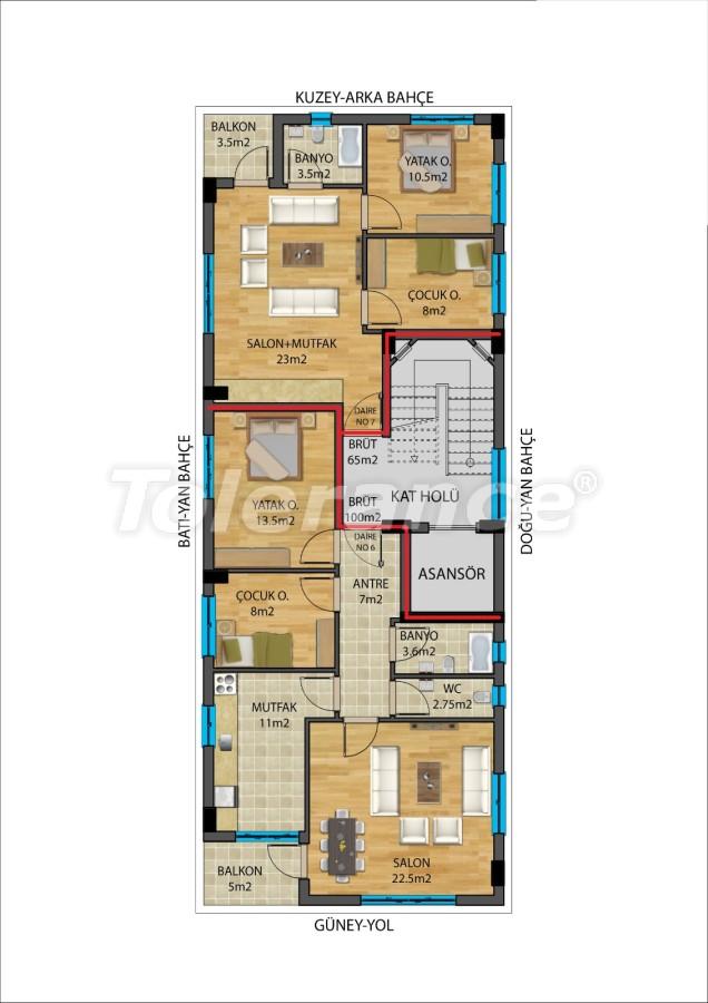 Современные квартиры в Муратпаша, Анталия от надежного застройщика - 27338 | Tolerance Homes