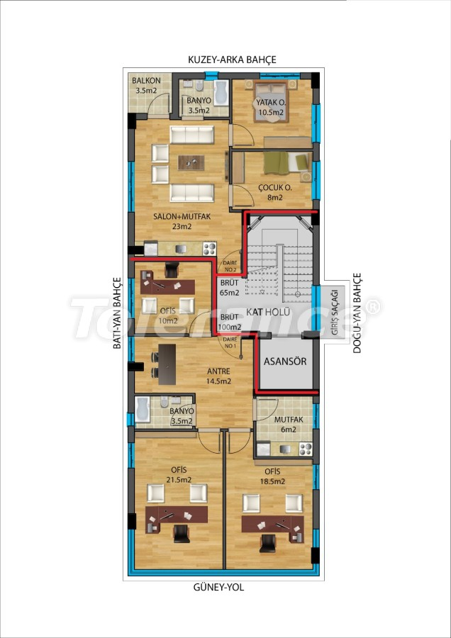 Современные квартиры в Муратпаша, Анталия от надежного застройщика - 27340 | Tolerance Homes
