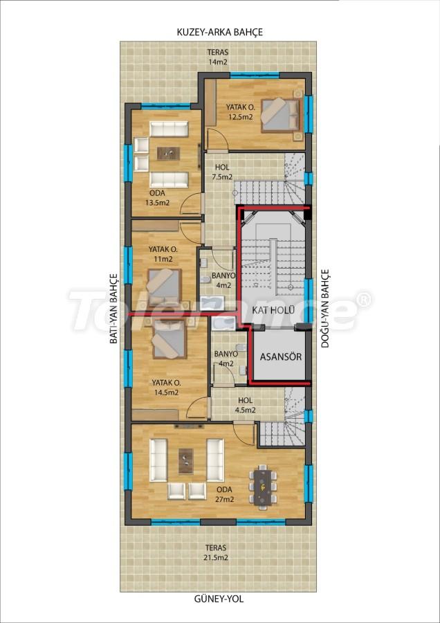 Современные квартиры в Муратпаша, Анталия от надежного застройщика - 27337 | Tolerance Homes