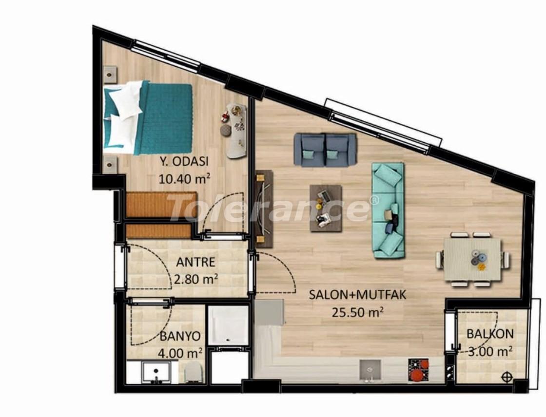 Новые квартиры в Измире с рассрочкой от застройщика - 27518 | Tolerance Homes