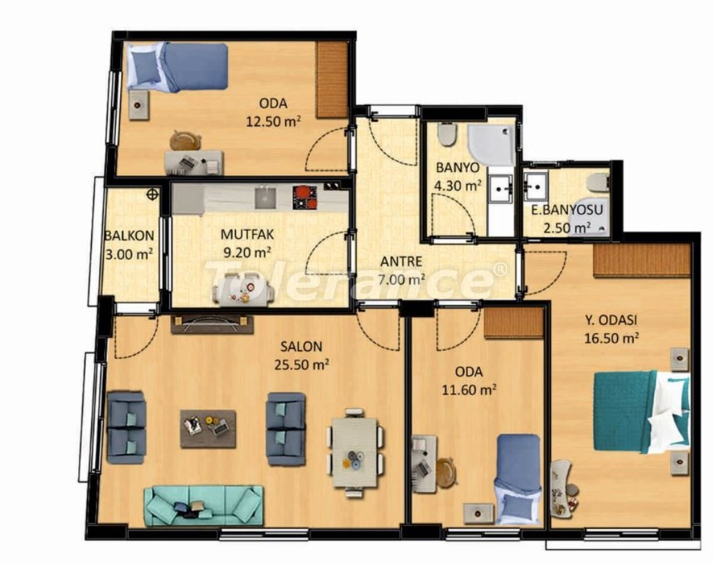 Новые квартиры в Измире с рассрочкой от застройщика - 27517 | Tolerance Homes