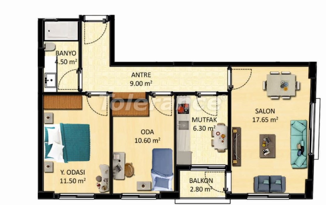 Новые квартиры в Измире с рассрочкой от застройщика - 27519 | Tolerance Homes