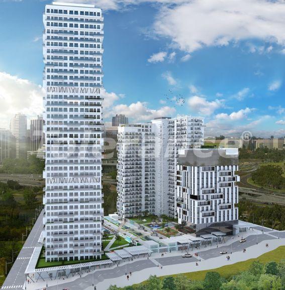 Просторные квартиры в Эсенюрте, Стамбул в современном комплексе с рассрочкой до 1 года - 27602   Tolerance Homes
