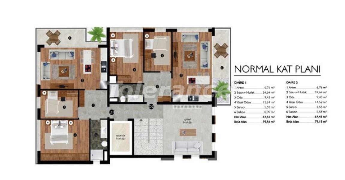 Квартиры класса люкс в Измире рядом с морем - 27633 | Tolerance Homes