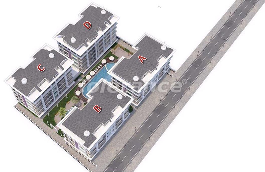 Роскошные современные апартаменты в Каргыджаке, всего в 300 метрах от моря - 27754   Tolerance Homes