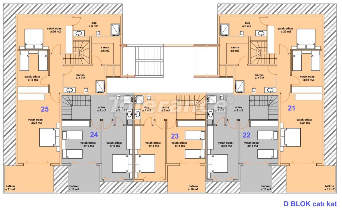 Роскошные современные апартаменты в Каргыджаке, всего в 300 метрах от моря - 27762   Tolerance Homes