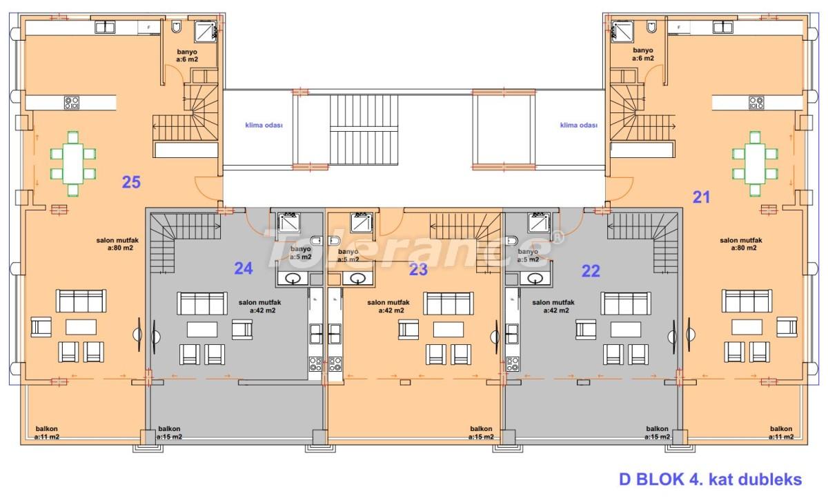 Роскошные современные апартаменты в Каргыджаке, всего в 300 метрах от моря - 27761   Tolerance Homes