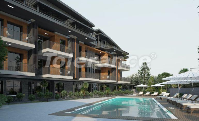 Шикарные квартиры в Ларе, Анталия в комплексе с бассейном с рассрочкой от застройщика - 28381   Tolerance Homes