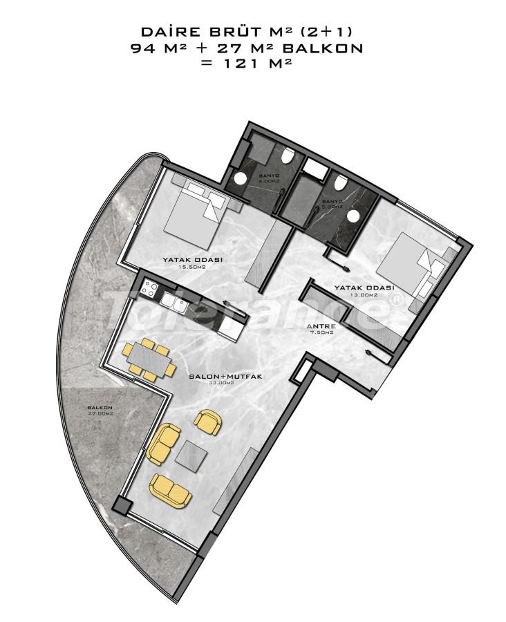 Комплекс премиум-класса, всего в 200 метрах от моря - 27948 | Tolerance Homes