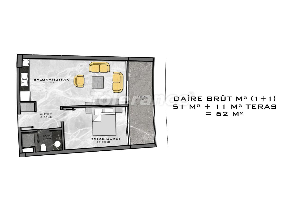 Комплекс премиум-класса, всего в 200 метрах от моря - 27938 | Tolerance Homes