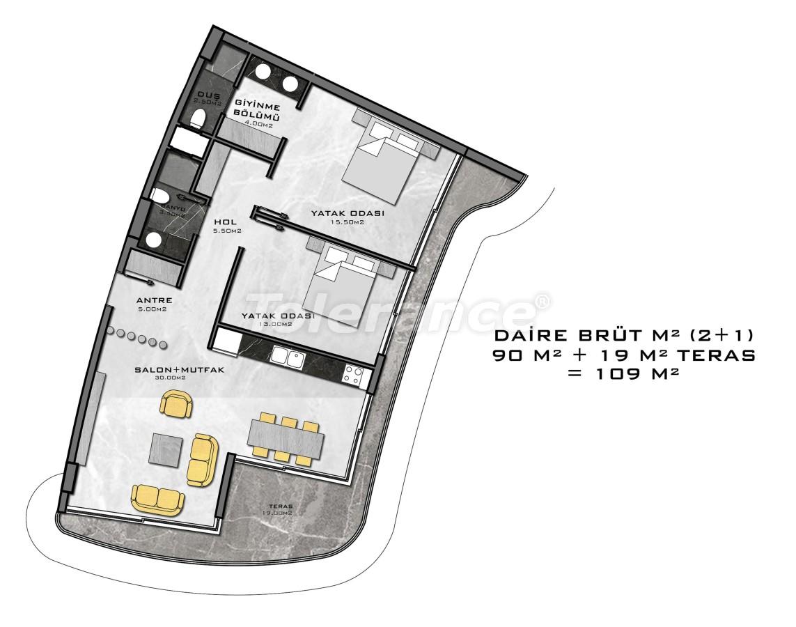 Комплекс премиум-класса, всего в 200 метрах от моря - 27945 | Tolerance Homes