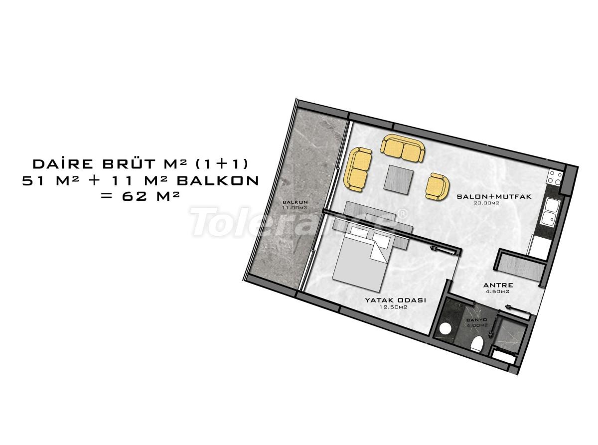 Комплекс премиум-класса, всего в 200 метрах от моря - 27935 | Tolerance Homes
