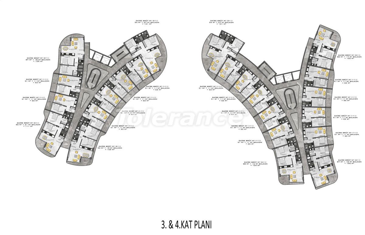 Комплекс премиум-класса, всего в 200 метрах от моря - 27950 | Tolerance Homes