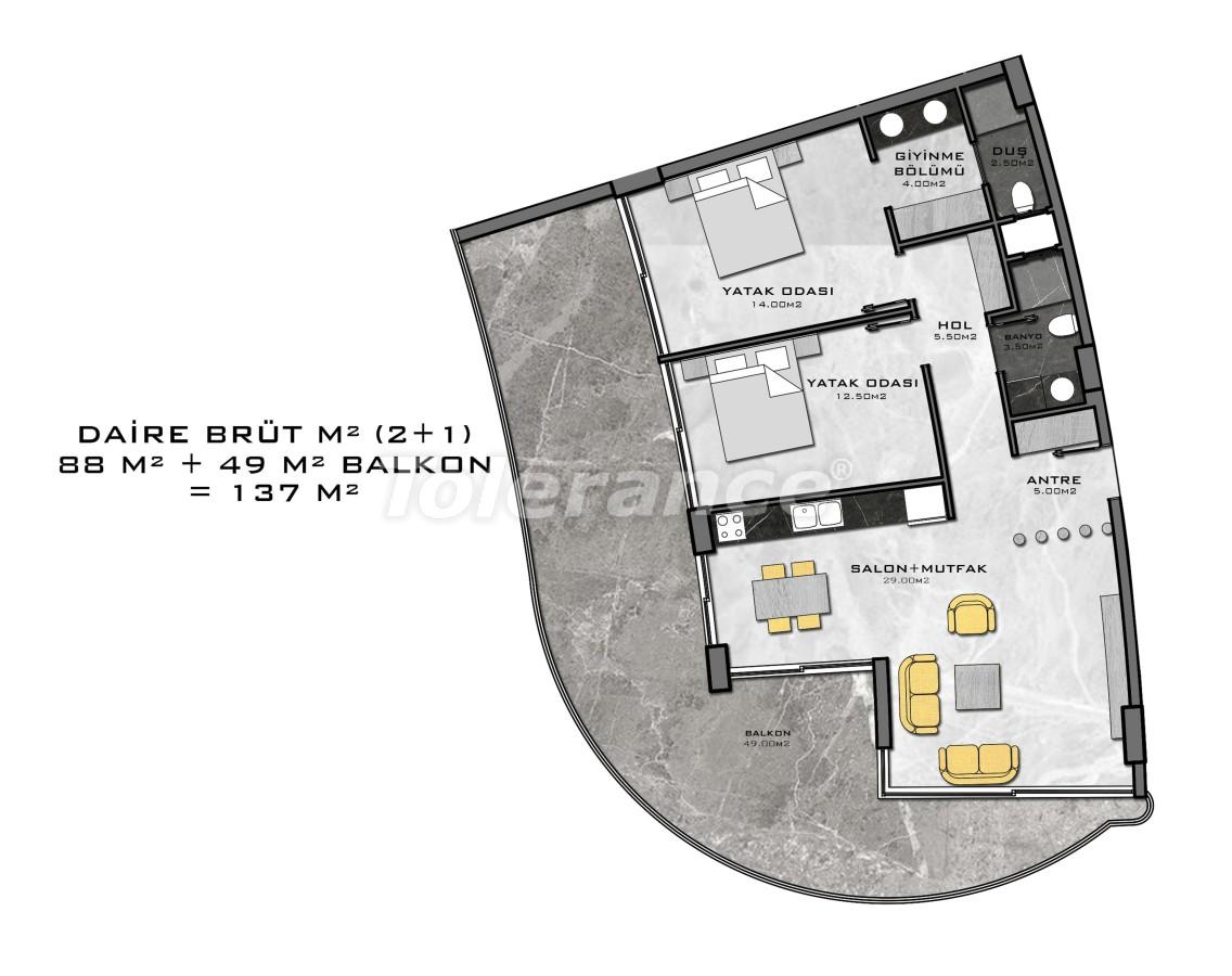 Комплекс премиум-класса, всего в 200 метрах от моря - 27949 | Tolerance Homes