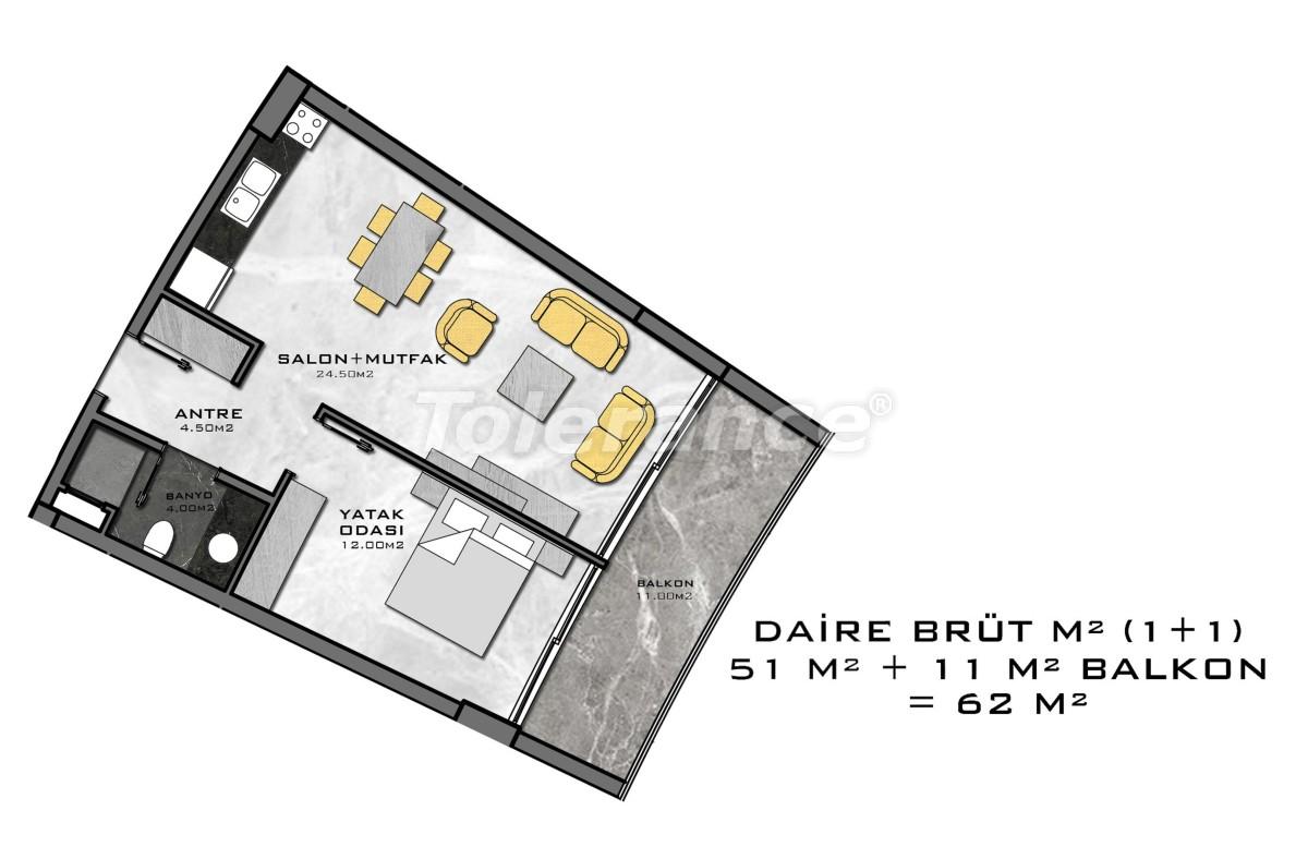 Комплекс премиум-класса, всего в 200 метрах от моря - 27936 | Tolerance Homes