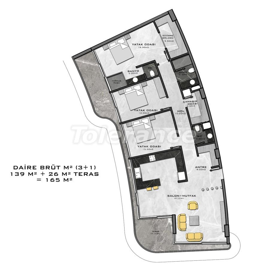 Комплекс премиум-класса, всего в 200 метрах от моря - 27951 | Tolerance Homes