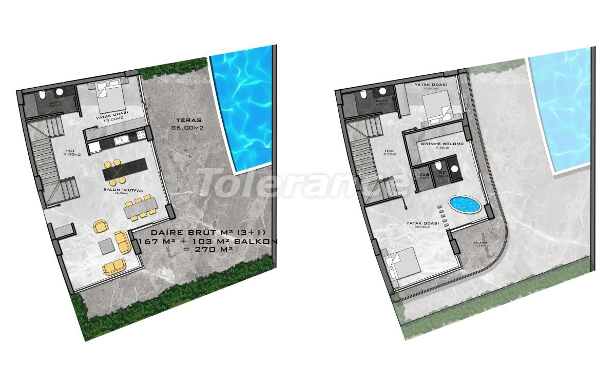 Комплекс премиум-класса, всего в 200 метрах от моря - 27955 | Tolerance Homes