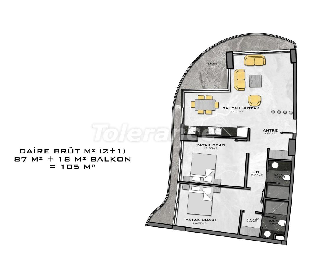 Комплекс премиум-класса, всего в 200 метрах от моря - 27942 | Tolerance Homes