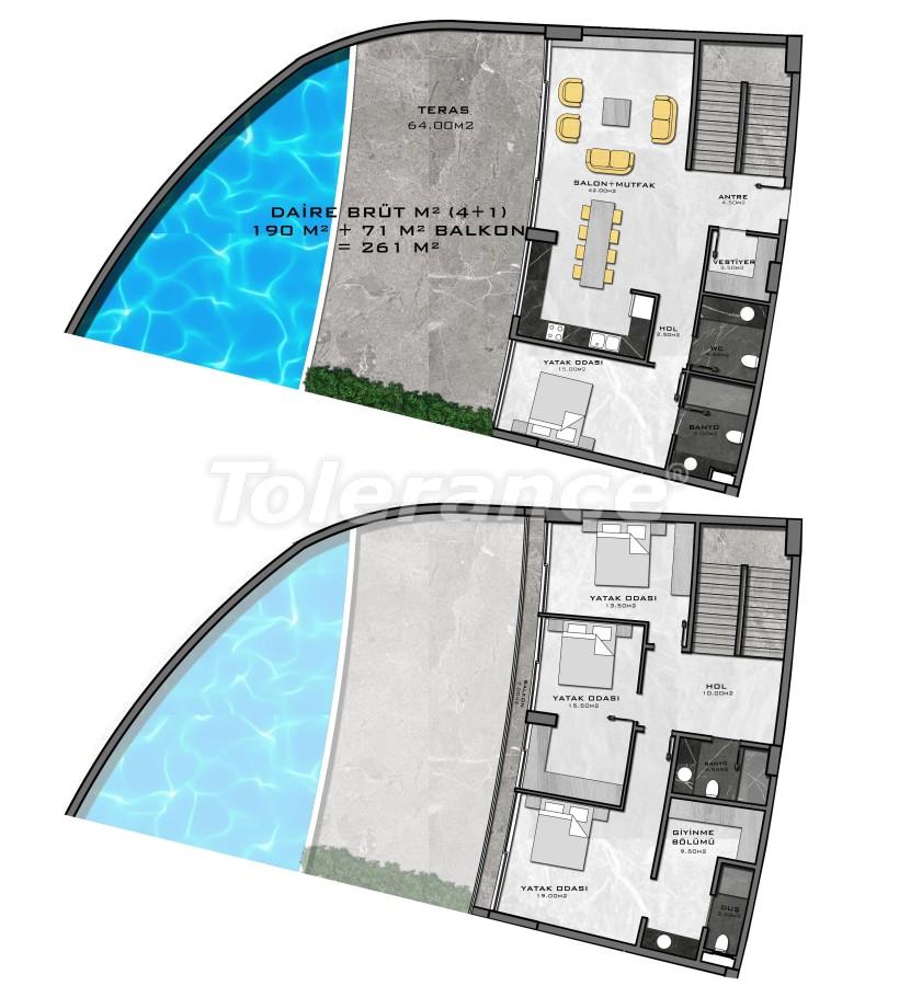 Комплекс премиум-класса, всего в 200 метрах от моря - 27957 | Tolerance Homes