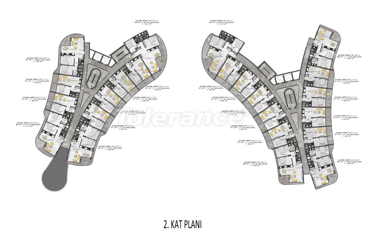 Комплекс премиум-класса, всего в 200 метрах от моря - 27940 | Tolerance Homes
