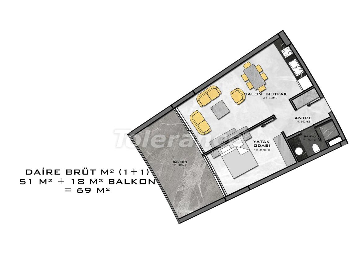 Комплекс премиум-класса, всего в 200 метрах от моря - 27939 | Tolerance Homes