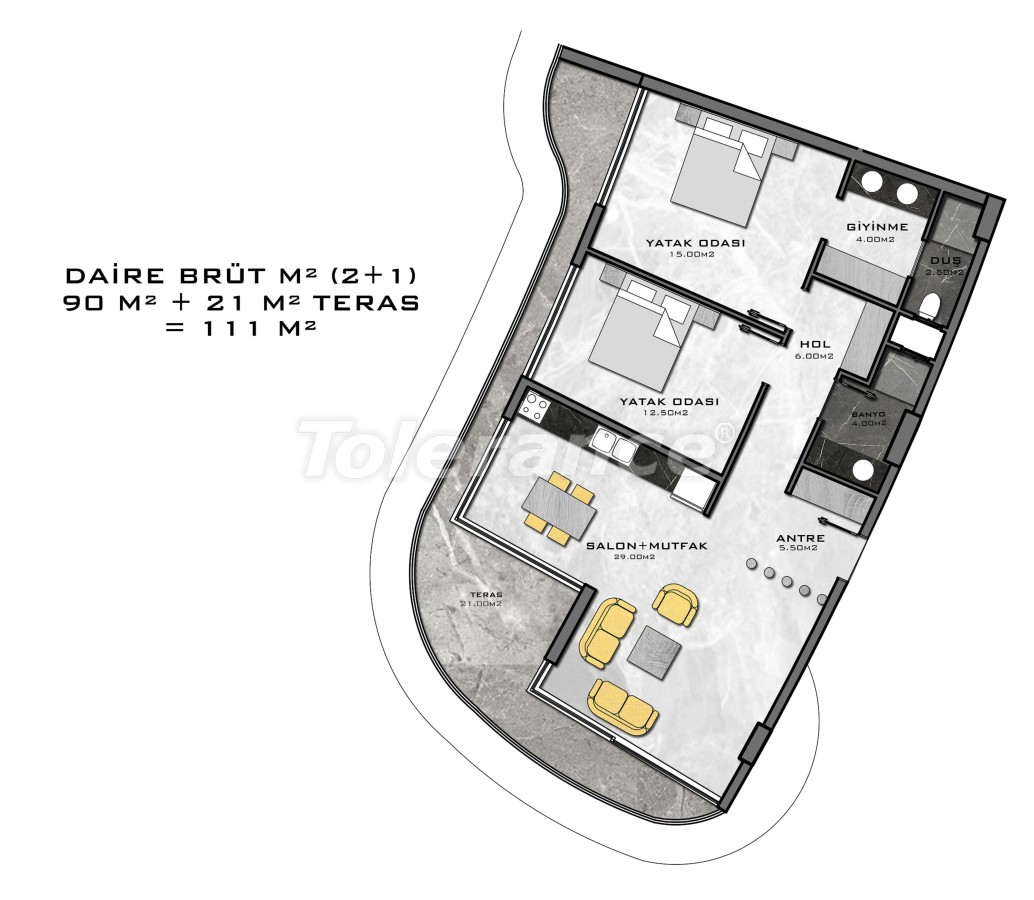 Комплекс премиум-класса, всего в 200 метрах от моря - 27946 | Tolerance Homes