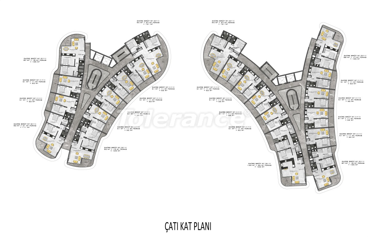 Комплекс премиум-класса, всего в 200 метрах от моря - 27953 | Tolerance Homes