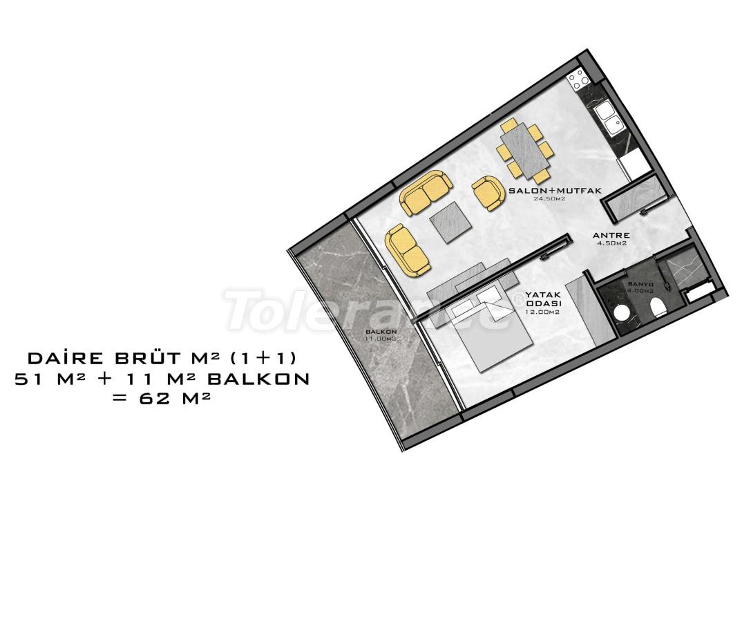 Комплекс премиум-класса, всего в 200 метрах от моря - 27937 | Tolerance Homes